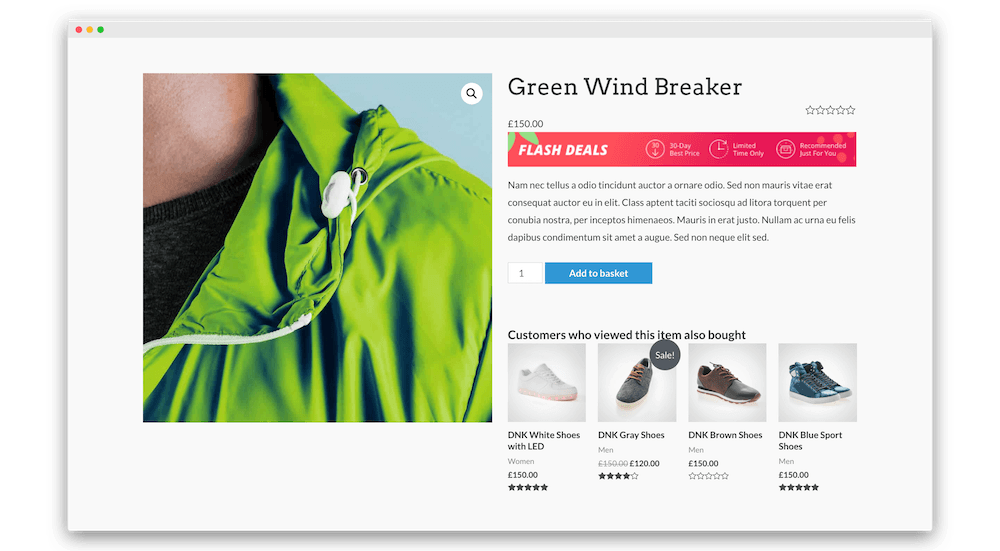 Woocommerce Product Page Layout
